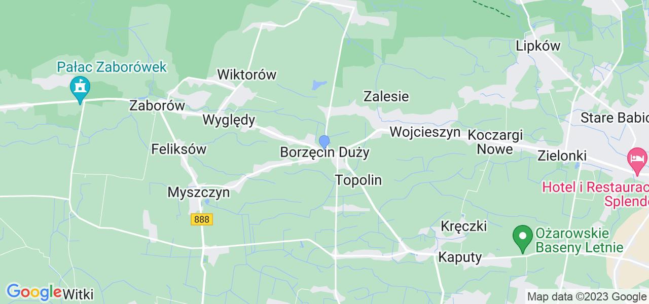 Dostępne w Borzęcinie Dużym lokalizacje punktów nadania, z których możesz skorzystać, chcąc wysłać turbinę do regeneracji w największym serwisie w Polsce