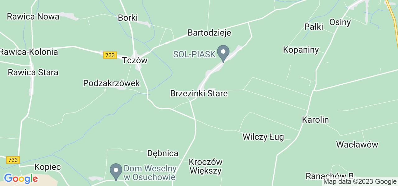 Dostępne w Brzezinkach Starych lokalizacje punktów nadania, z których możesz skorzystać, chcąc wysłać turbinę do regeneracji w największym serwisie w Polsce