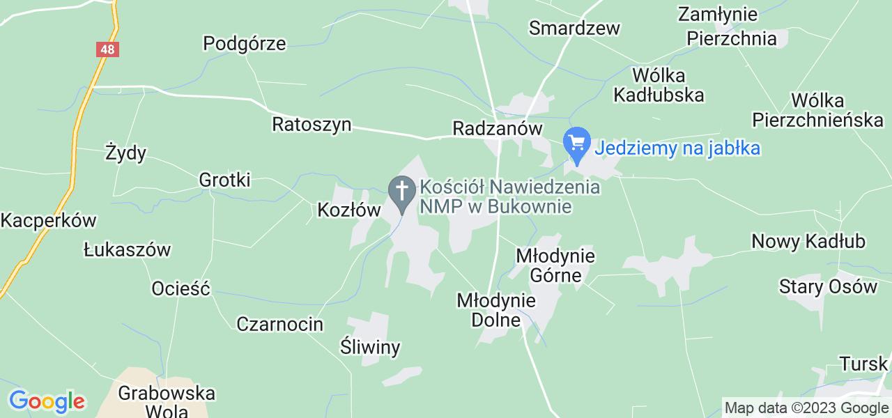 Dostępne w Bukownie lokalizacje punktów nadania, z których możesz skorzystać, chcąc wysłać turbinę do regeneracji w największym serwisie w Polsce
