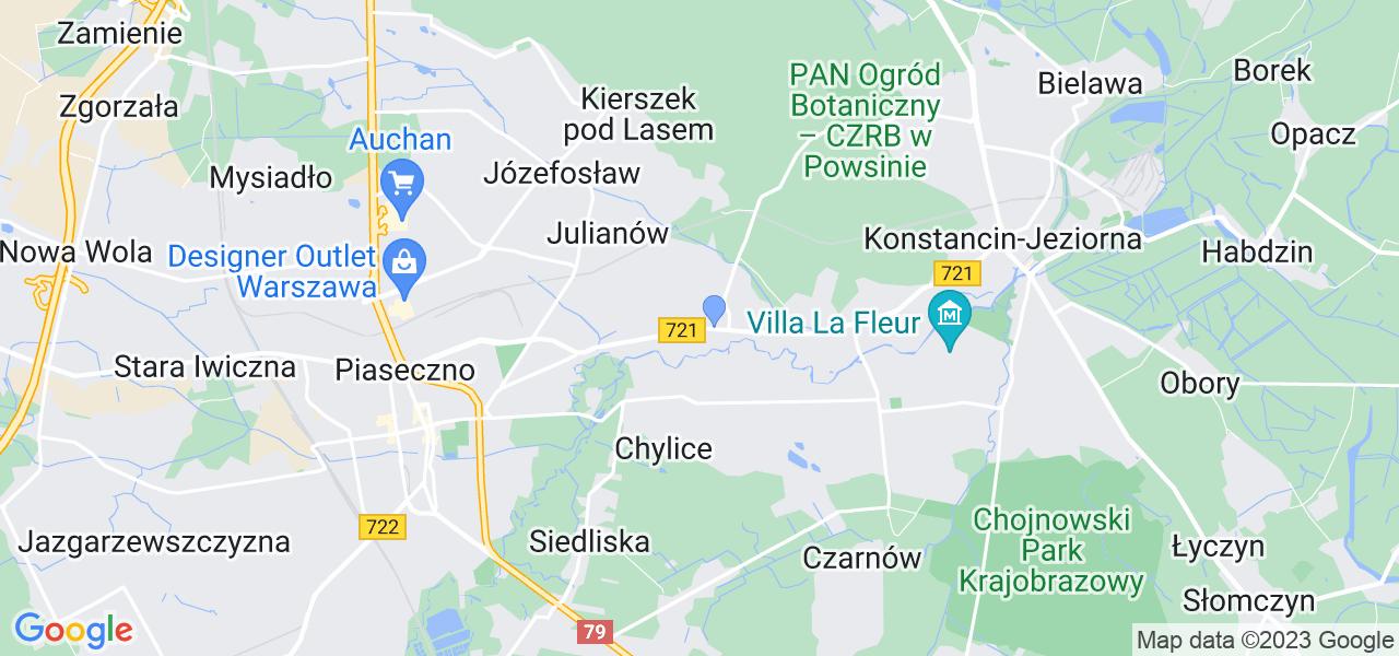 Dostępne w Chyliczkach lokalizacje punktów nadania, z których możesz skorzystać, chcąc wysłać turbinę do regeneracji w największym serwisie w Polsce