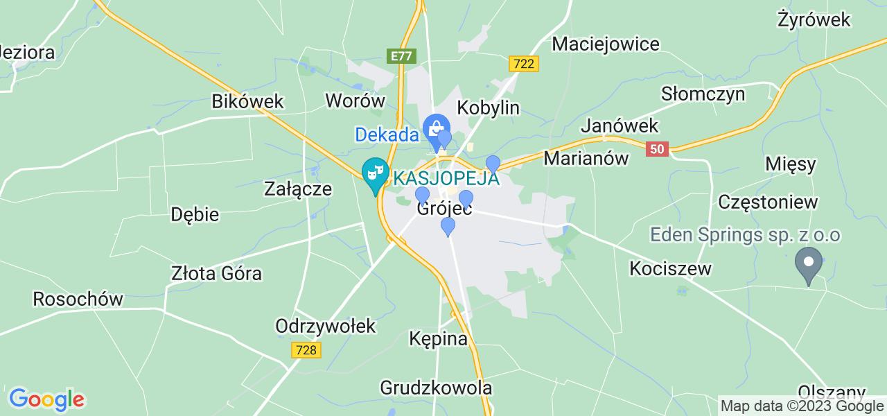Dostępne w Grójcu lokalizacje punktów nadania, z których możesz skorzystać, chcąc wysłać turbinę do regeneracji w największym serwisie w Polsce