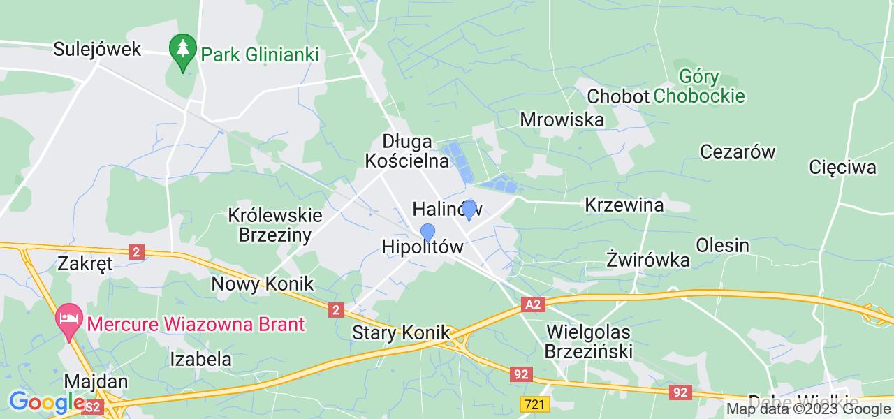 Dostępne w Halinowie lokalizacje punktów nadania, z których możesz skorzystać, chcąc wysłać turbinę do regeneracji w największym serwisie w Polsce