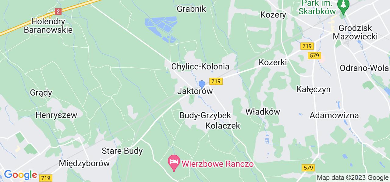 Dostępne w Jaktorowie lokalizacje punktów nadania, z których możesz skorzystać, chcąc wysłać turbinę do regeneracji w największym serwisie w Polsce
