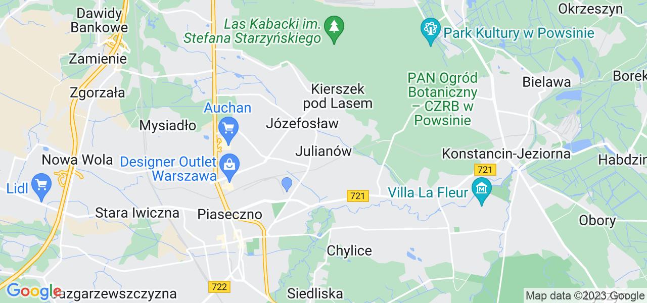 Dostępne w Julianowie lokalizacje punktów nadania, z których możesz skorzystać, chcąc wysłać turbinę do regeneracji w największym serwisie w Polsce