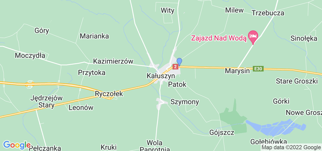 Dostępne w Kałuszynie lokalizacje punktów nadania, z których możesz skorzystać, chcąc wysłać turbinę do regeneracji w największym serwisie w Polsce