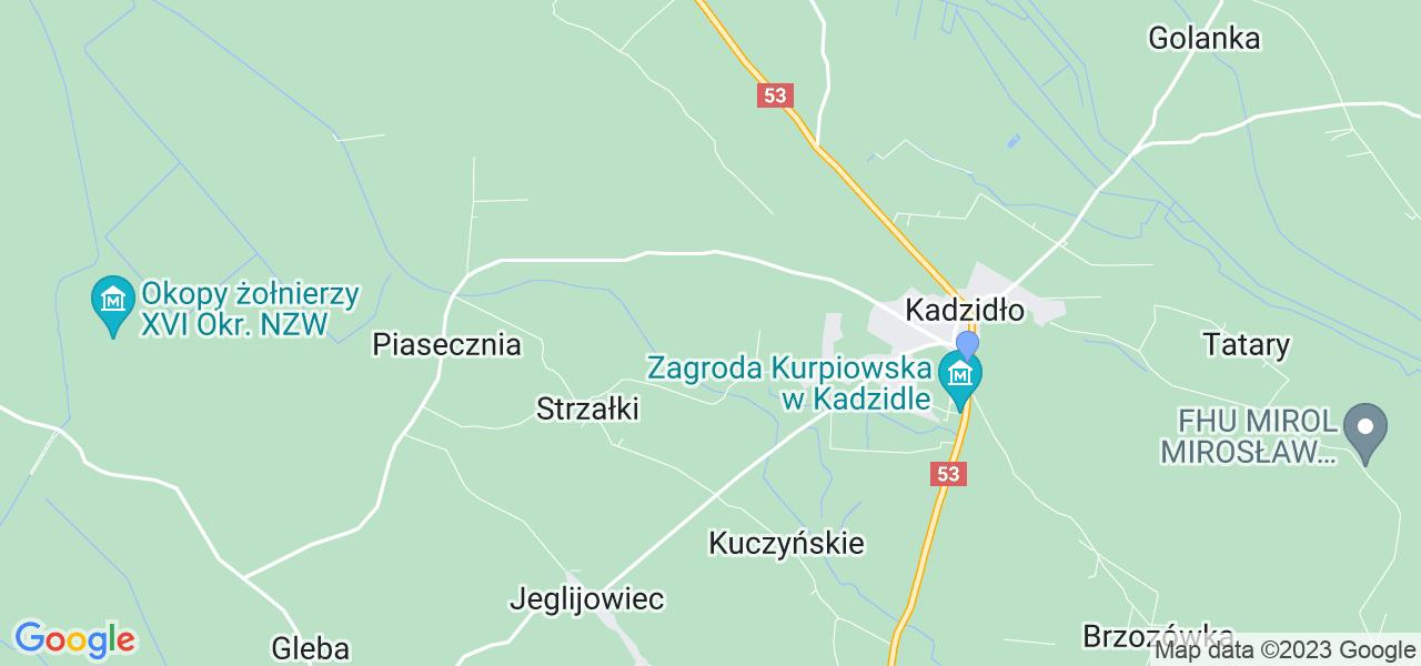 Dostępne w Kadzidle lokalizacje punktów nadania, z których możesz skorzystać, chcąc wysłać turbinę do regeneracji w największym serwisie w Polsce