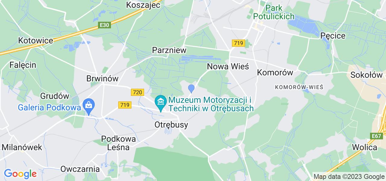 Dostępne w Kaniach lokalizacje punktów nadania, z których możesz skorzystać, chcąc wysłać turbinę do regeneracji w największym serwisie w Polsce