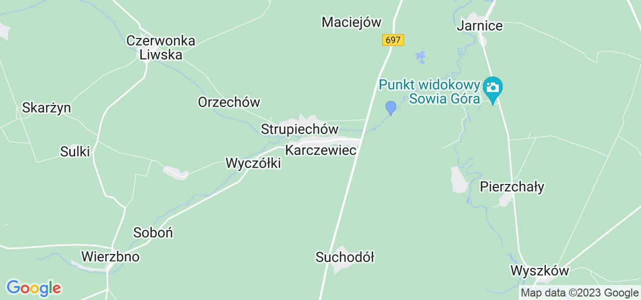 Dostępne w Karczewcu lokalizacje punktów nadania, z których możesz skorzystać, chcąc wysłać turbinę do regeneracji w największym serwisie w Polsce