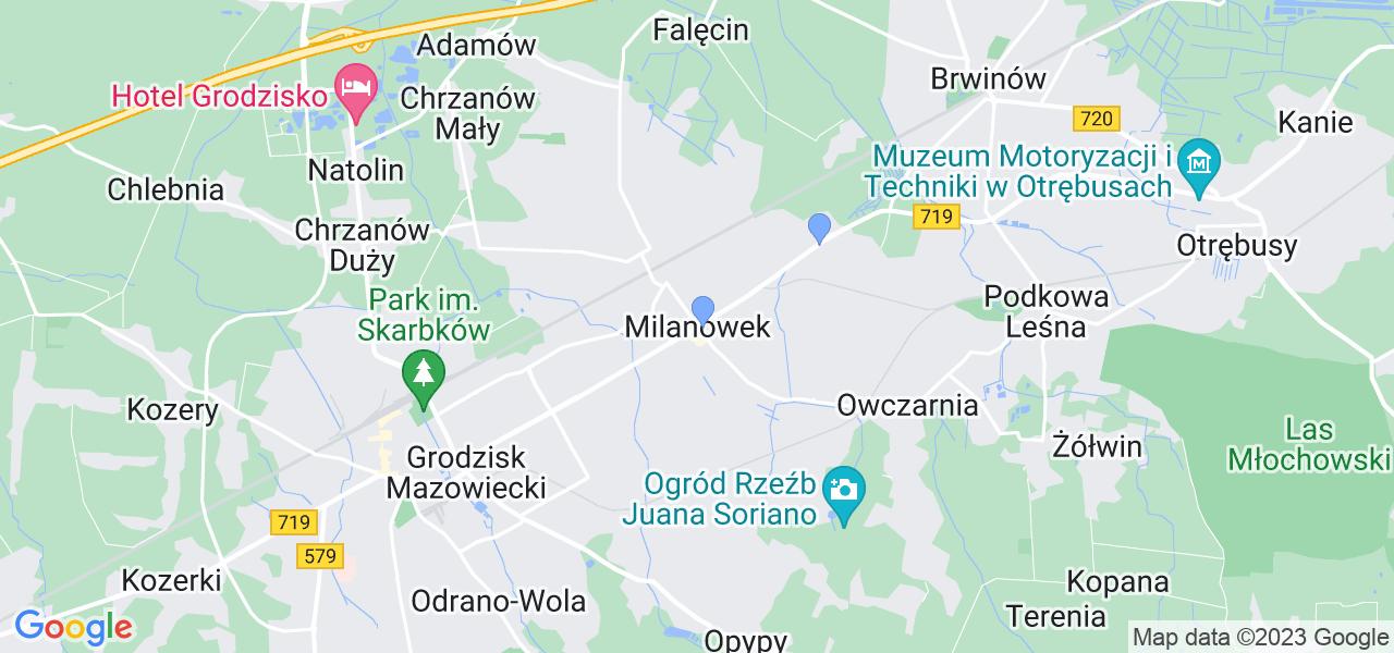 Dostępne w Milanówku lokalizacje punktów nadania, z których możesz skorzystać, chcąc wysłać turbinę do regeneracji w największym serwisie w Polsce
