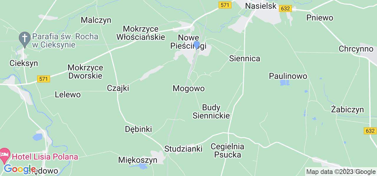 Dostępne w Mogowie lokalizacje punktów nadania, z których możesz skorzystać, chcąc wysłać turbinę do regeneracji w największym serwisie w Polsce