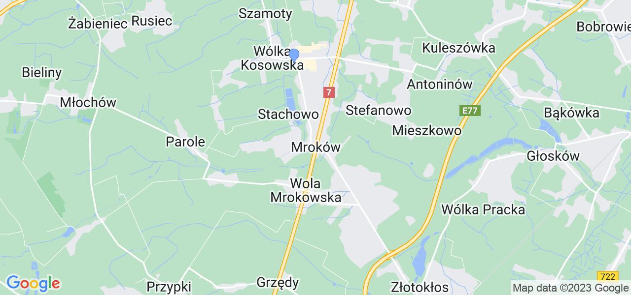 Dostępne w Mrokowie lokalizacje punktów nadania, z których możesz skorzystać, chcąc wysłać turbinę do regeneracji w największym serwisie w Polsce