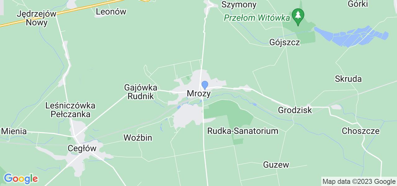 Dostępne w Mrozach lokalizacje punktów nadania, z których możesz skorzystać, chcąc wysłać turbinę do regeneracji w największym serwisie w Polsce
