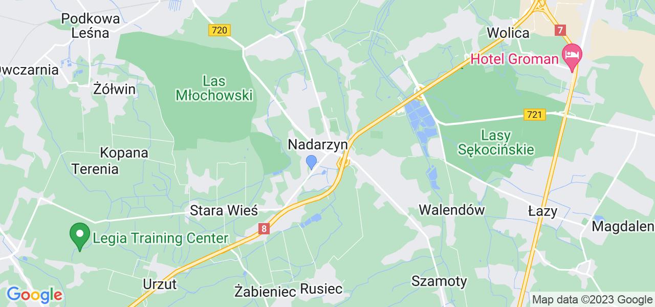 Dostępne w Nadarzynie lokalizacje punktów nadania, z których możesz skorzystać, chcąc wysłać turbinę do regeneracji w największym serwisie w Polsce