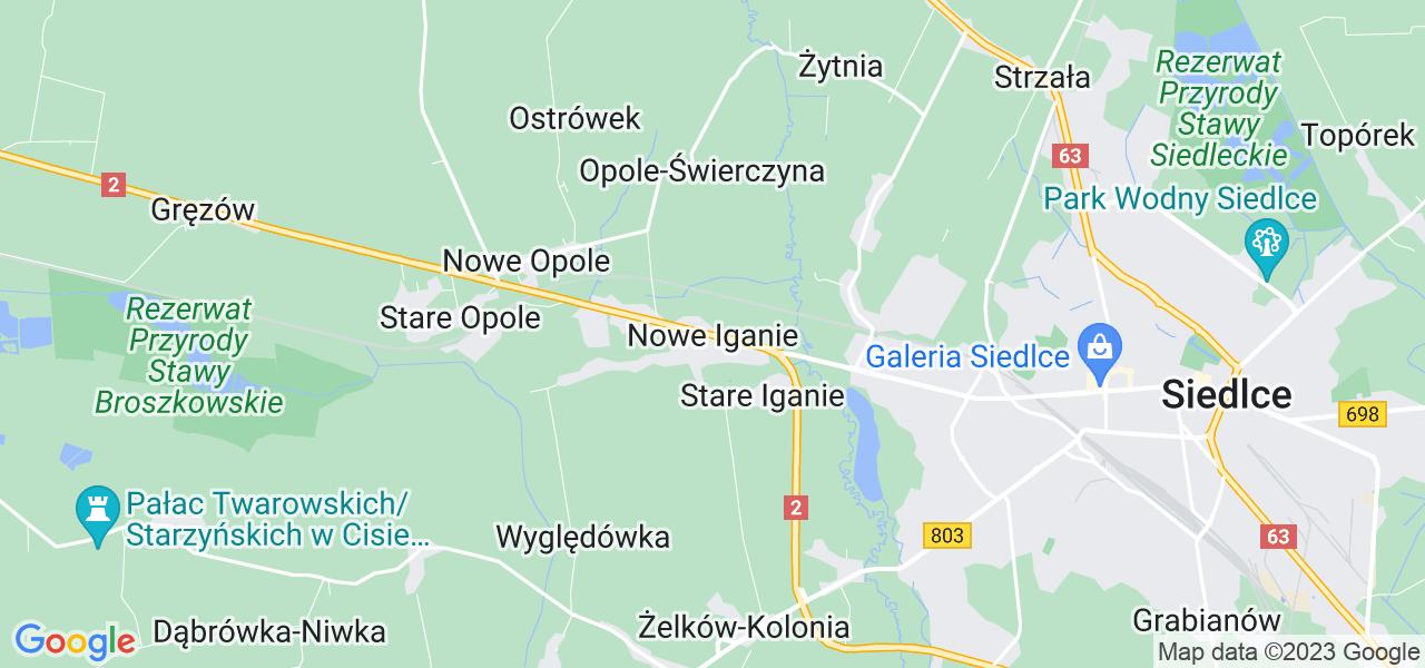 Dostępne w Nowych Iganiach lokalizacje punktów nadania, z których możesz skorzystać, chcąc wysłać turbinę do regeneracji w największym serwisie w Polsce