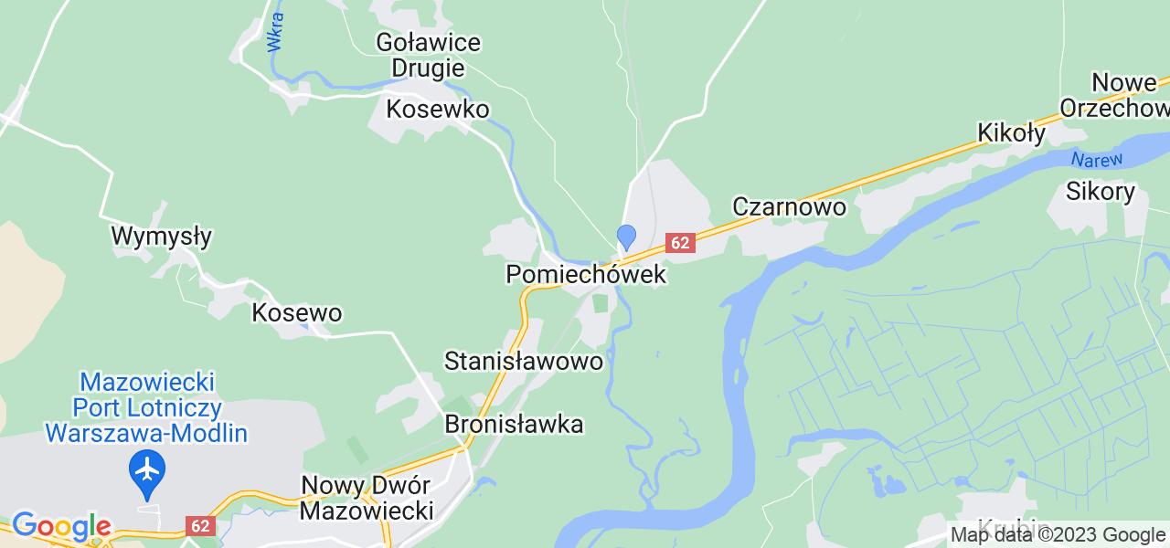 Dostępne w Pomiechówku lokalizacje punktów nadania, z których możesz skorzystać, chcąc wysłać turbinę do regeneracji w największym serwisie w Polsce