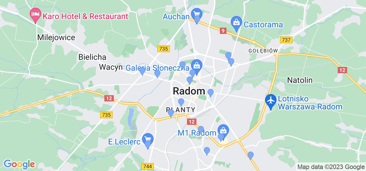 Dostępne w Radomiu lokalizacje punktów nadania, z których możesz skorzystać, chcąc wysłać turbinę do regeneracji w największym serwisie w Polsce