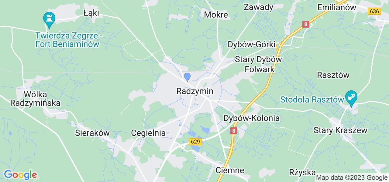 Dostępne w Radzyminie lokalizacje punktów nadania, z których możesz skorzystać, chcąc wysłać turbinę do regeneracji w największym serwisie w Polsce