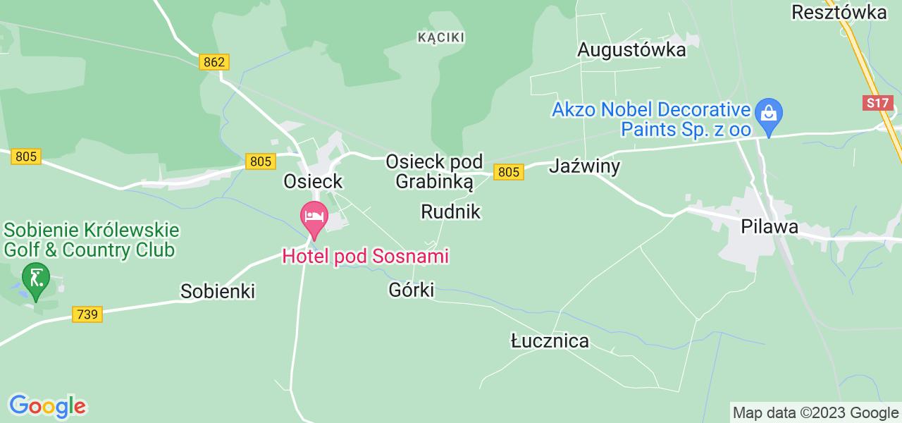 Dostępne w Rudniku lokalizacje punktów nadania, z których możesz skorzystać, chcąc wysłać turbinę do regeneracji w największym serwisie w Polsce