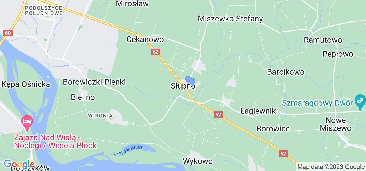 Dostępne w  lokalizacje punktów nadania, z których możesz skorzystać, chcąc wysłać turbinę do regeneracji w największym serwisie w Polsce