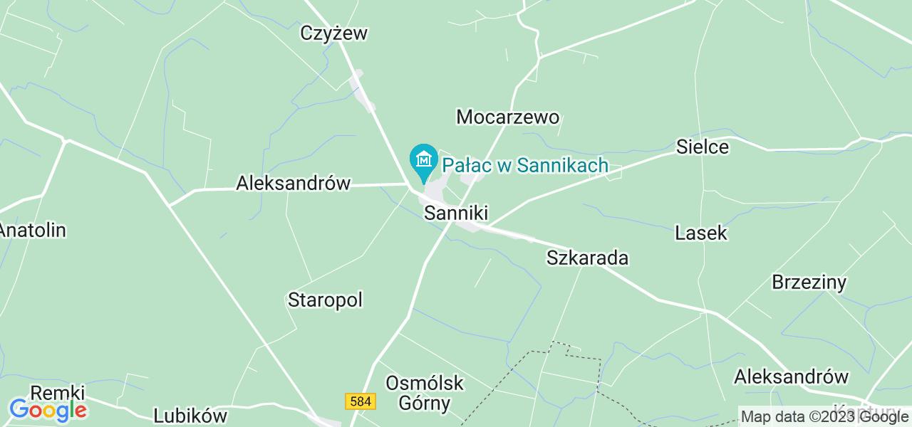 Dostępne w Sannikach lokalizacje punktów nadania, z których możesz skorzystać, chcąc wysłać turbinę do regeneracji w największym serwisie w Polsce
