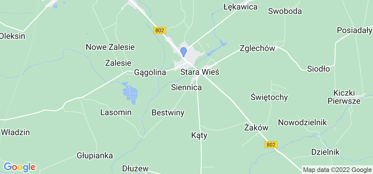 Dostępne w Siennicy lokalizacje punktów nadania, z których możesz skorzystać, chcąc wysłać turbinę do regeneracji w największym serwisie w Polsce