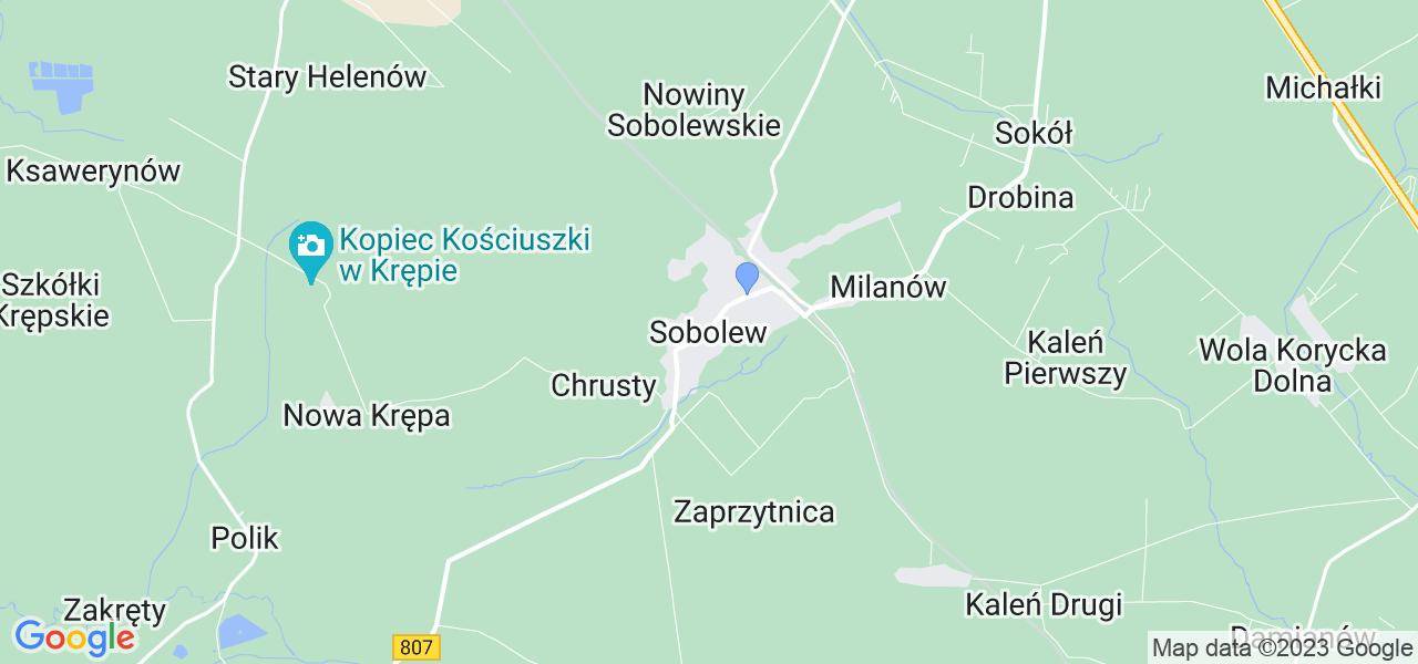 Dostępne w Sobolewie lokalizacje punktów nadania, z których możesz skorzystać, chcąc wysłać turbinę do regeneracji w największym serwisie w Polsce