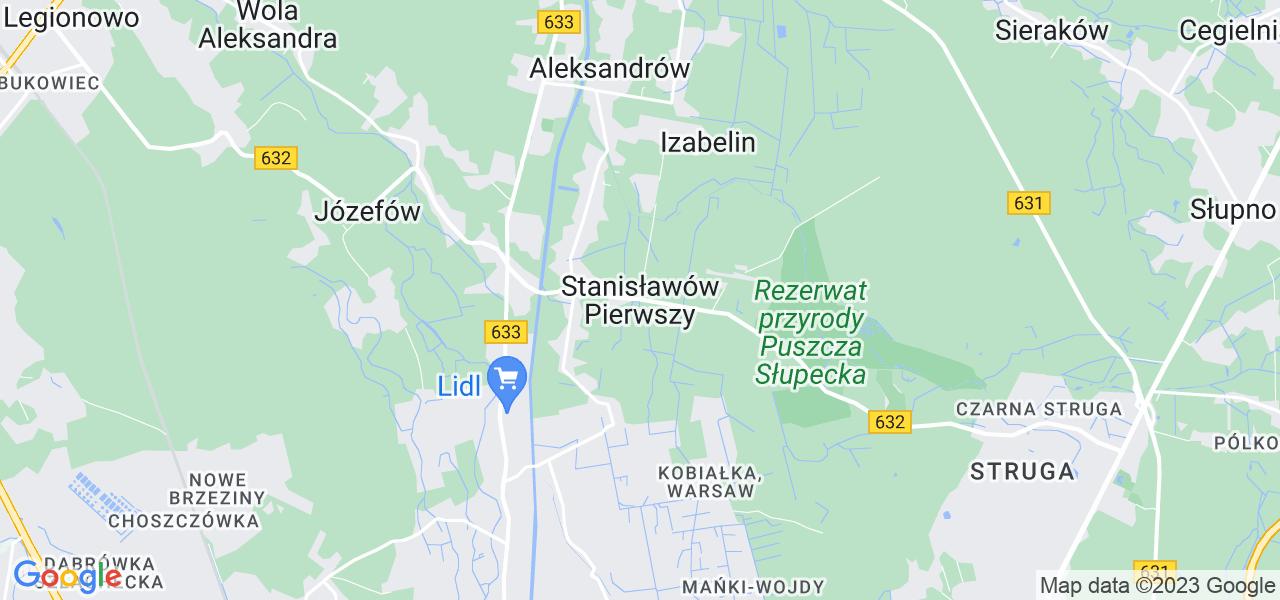 Dostępne w Stanisławowie Pierwszym lokalizacje punktów nadania, z których możesz skorzystać, chcąc wysłać turbinę do regeneracji w największym serwisie w Polsce