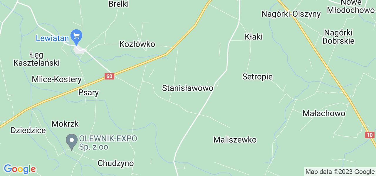 Dostępne w Stanisławowie lokalizacje punktów nadania, z których możesz skorzystać, chcąc wysłać turbinę do regeneracji w największym serwisie w Polsce