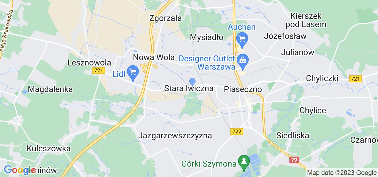 Dostępne w Starej Iwicznie lokalizacje punktów nadania, z których możesz skorzystać, chcąc wysłać turbinę do regeneracji w największym serwisie w Polsce