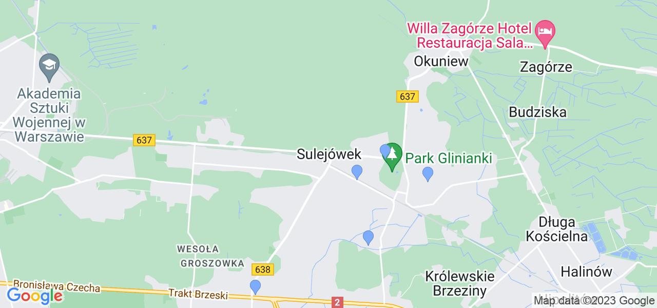 Dostępne w Sulejówku lokalizacje punktów nadania, z których możesz skorzystać, chcąc wysłać turbinę do regeneracji w największym serwisie w Polsce