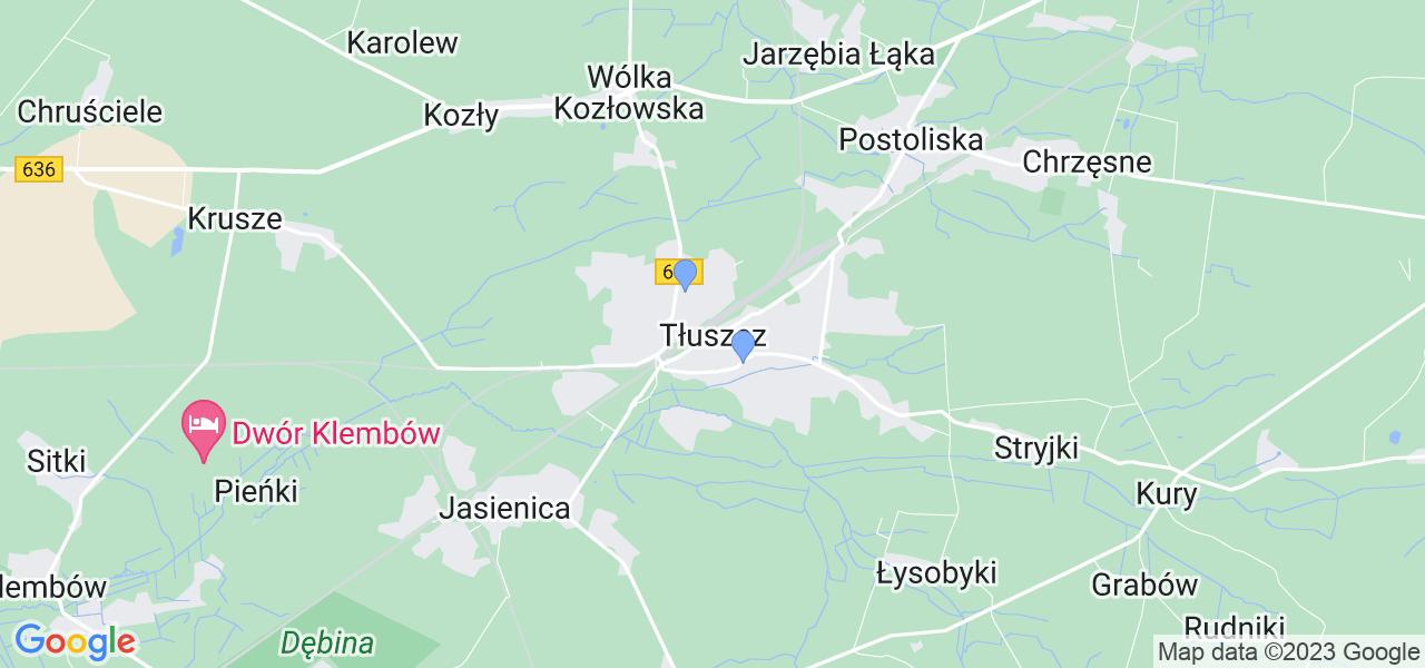 Dostępne w Tłuszczu lokalizacje punktów nadania, z których możesz skorzystać, chcąc wysłać turbinę do regeneracji w największym serwisie w Polsce