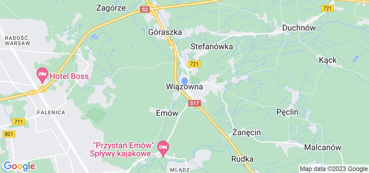 Dostępne w Wiązownie lokalizacje punktów nadania, z których możesz skorzystać, chcąc wysłać turbinę do regeneracji w największym serwisie w Polsce