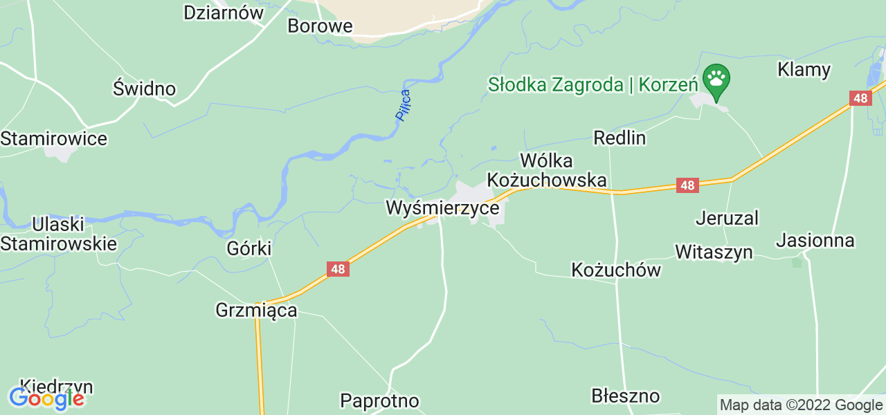 Dostępne w Wyśmierzycach lokalizacje punktów nadania, z których możesz skorzystać, chcąc wysłać turbinę do regeneracji w największym serwisie w Polsce