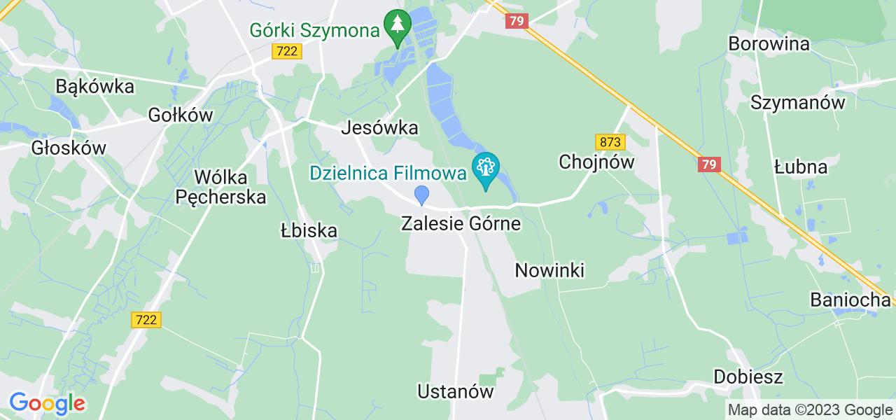 Dostępne w Zalesiu Górnym lokalizacje punktów nadania, z których możesz skorzystać, chcąc wysłać turbinę do regeneracji w największym serwisie w Polsce
