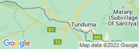 Tunduma map