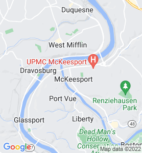Mckeesport PA Map