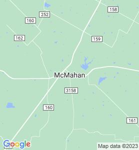Mcmahan TX Map