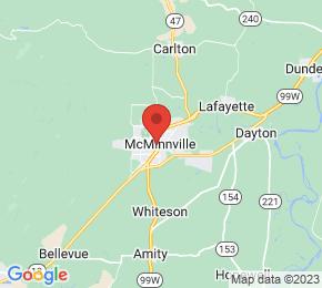 Job Map - Mcminnville, Oregon 97128 US