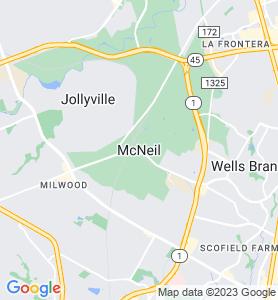 Mcneil TX Map