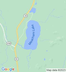 Meacham NY Map