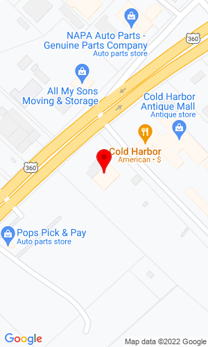 Google Map of Mechanicsville Power Equipment 8179 Mechanicsville Tpk, Mechanicsville, VA, 23111,