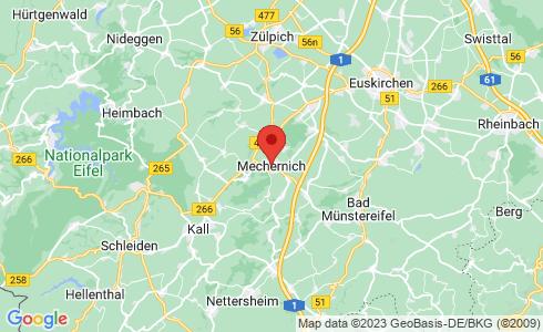 Google Karte - Mechernich