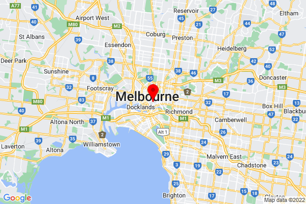 Google Map of Melbourne - links to interactive map