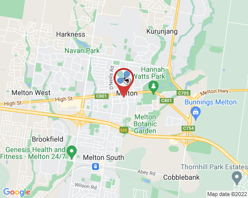 Bacchus Marsh google map