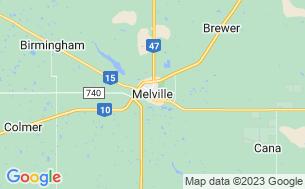 Map of Melville Regional Park