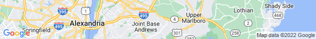 Map of MD