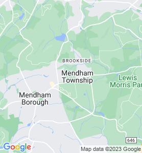 Mendham NJ Map