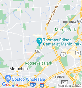 Menlo Park NJ Map