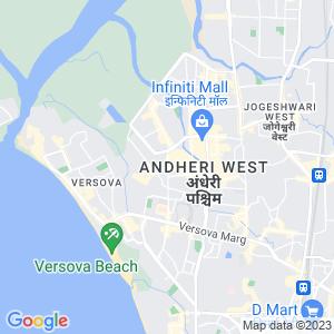 Google Map of Mercedes-Benz, 203, Lokhandwala Complex Rd, Sundervan Complex, SV Patel Nagar, Andheri West, Mumbai, Maharashtra 400061