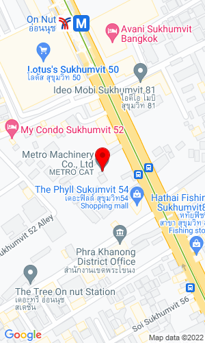 Google Map of Metro Machinery 1760 Suwit Road, Khanong, Bangkok ,